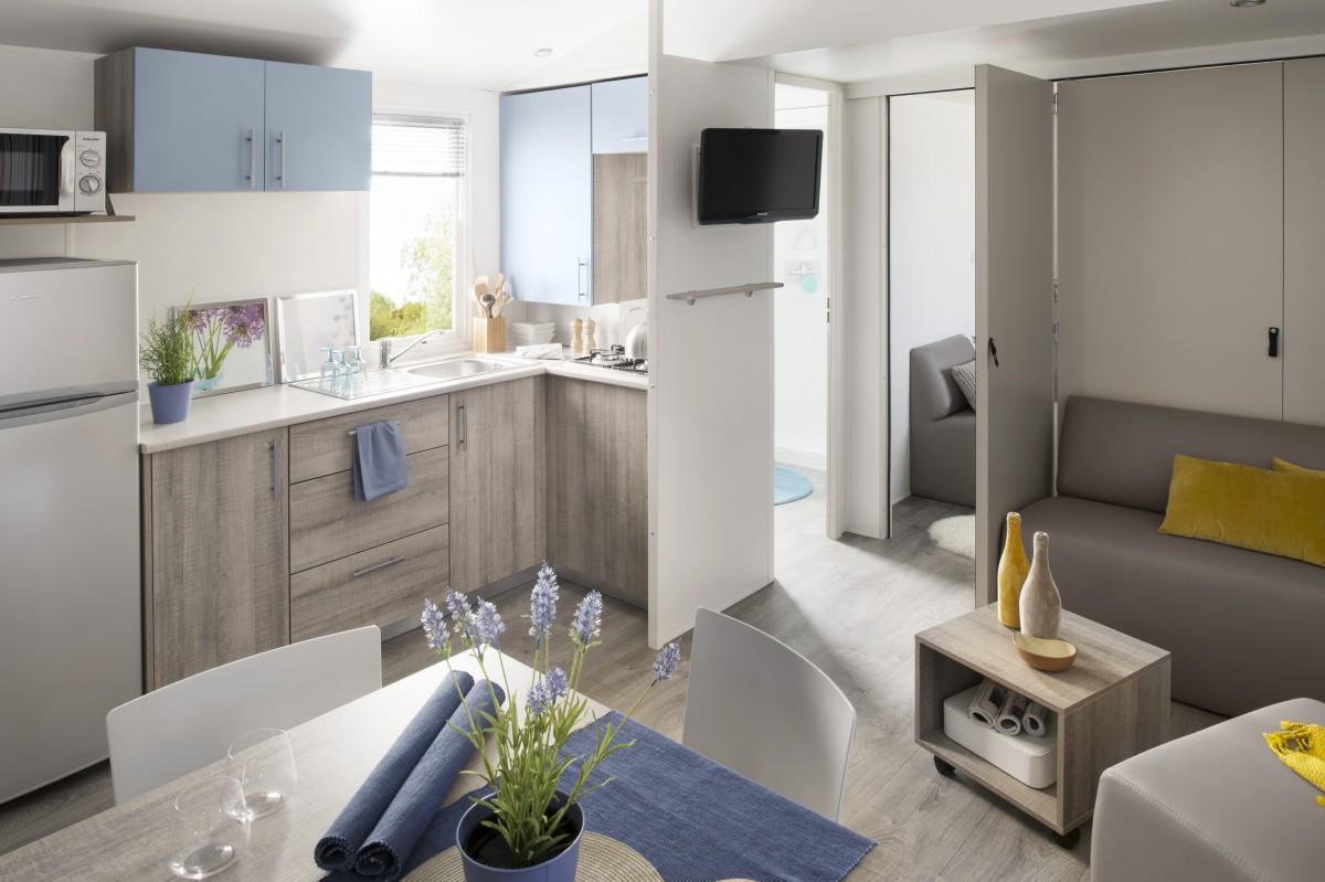 A vendre mobil home neuf irm modul home 2014 for Decoration interieur de mobil home