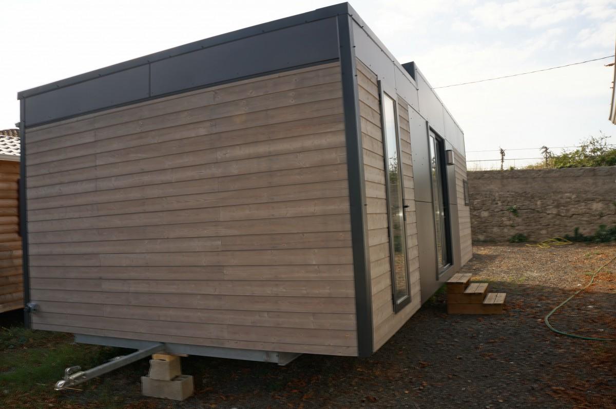 A vendre mobil home neuf louisiane taos f4 2 chambres 2013 - Mobil home contemporain ...