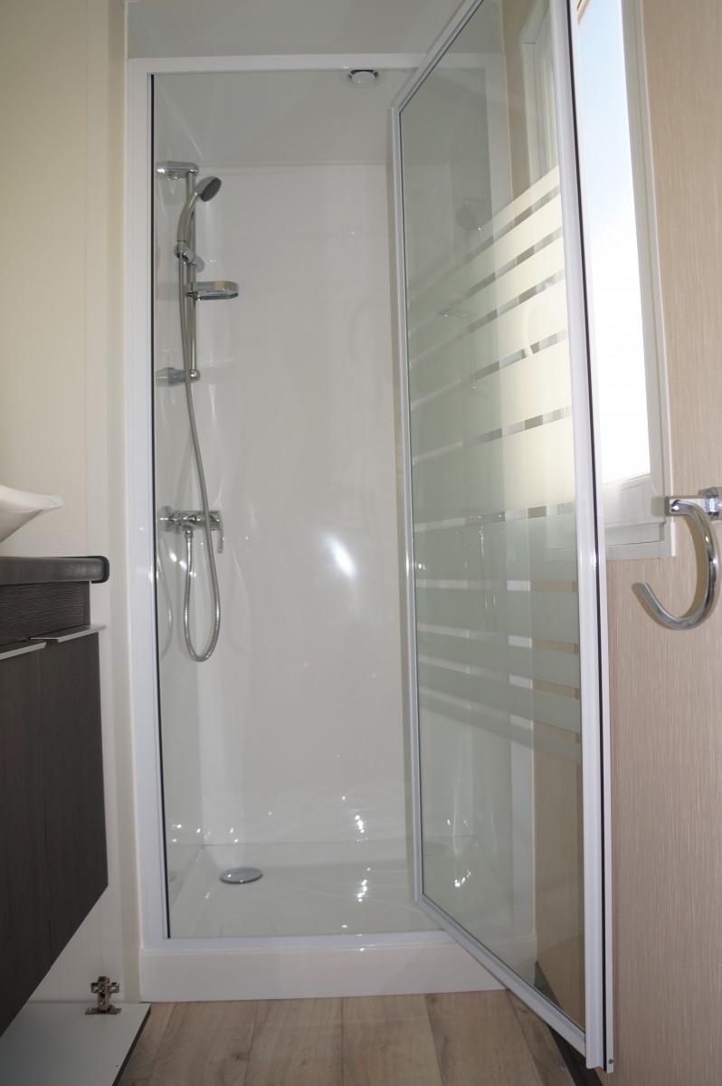 cabine de douche mobil home
